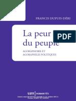 Déri - La Peur du Peuple.pdf