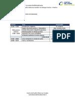 Programa I jornadas multidisciplinarias Centro del Sueño CLC  2019