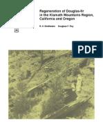 Regeneration of Douglas-fir in the Klamath Mountains region