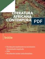 Literatura africana contemporânea