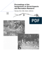 Social Aspects and Recreation Research