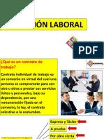LEGISLACIÓN LABORAL CLASE 1.- CONTRATOS DE TRABAJO..