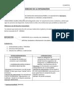 INTEGRACIÓN - CLASES 1- 6 (1er Parcial)
