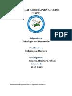 psicologia d desarrollo tarea 9