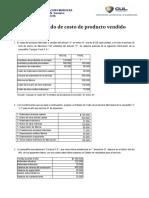 Ejercicio Taller de costo - costo de produccion