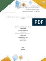 Unidad 2 Paso 3 - Reconocer los procesos básicos de la dinámica grupal.