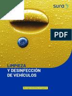 Guía de limpieza y desinfección de vehículos V2 - Movilidad