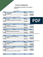 Ejercicios  cuentas nominales o de estado de resultados