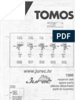 Shema Tomos 3,5 - 4 - 4,5 - 4,8