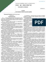 LEGEA 263 2010 Sistemul Unitar de Pensii Publice
