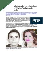 Los Cázares Salazar, el grupo criminal que acompaña a El Mayo en el Cártel de Sinaloa