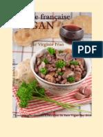 Cuisine française vegan by Virgine Paén