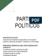 PARTIDOS POLÍTICOS y GRUPOS DE PRESIÓN