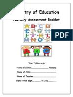 Final Literacy Assessment Year 1