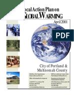 Local Action Plan on GW April 2001