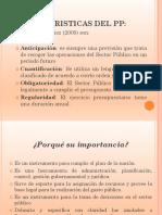 Características e importancia del PP