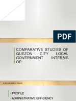 Comparative Studies