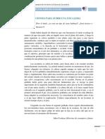 INSTRUCCIONES PARA SUBIR UNA ESCALERA - Julio Cortazar