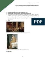 Las vanguardias europeas desde el Neoclasicismo hasta el Fauvismo