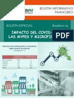 BOLETÍN N° 06 - Impacto del Covid 19 en las Mypes y Microfinanzas
