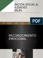 COGNICIÓN SOCIAL & HABILIDADES SOCIALES