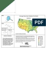 Direct Normal Solar Radiation Map