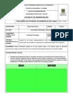 TALLER SEMANA 2 Y 3 EDUCACIÓN FÍSICA GRADO 8.pdf