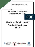 2010 Student Handbook