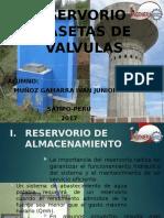 RESERVORIO Y CASETAS DE VALVULAS
