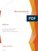 Microeconomía UTP - Semana 3