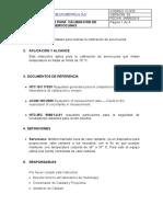 IC-020 Calibracion de servocunas