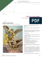 Quaresma de São Miguel Arcanjo _ Cléofas
