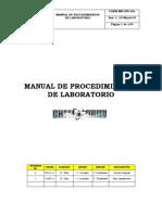 CHEM-MN-OPE-001 MANUAL DE PROCEDIMIENTOS DE LABORATORIO