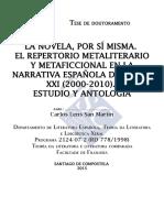 Metaficción y metaliteratura