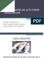 EDULCORANTES DE ALTO PODER