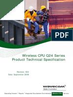 Wireless CPU Q24 Series
