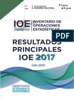Resultados Principales IOE 2017
