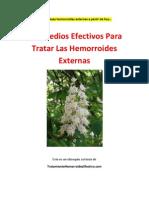 Hemorroides Externas