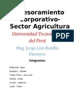Asesoramiento Corporativo- Agricultura