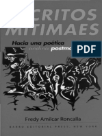 Escritos Mitimaes / Fredy Roncalla