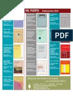 Títulos 2010 de Editores del Puerto