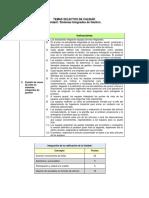 TSdC Instrucciones Unidad I