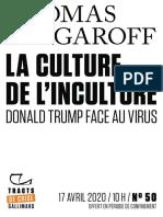 Thomas Snégaroff, La Culture de l'inculture.pdf