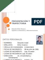 Presentación y Trayectoria - Eduardo Brito.pptx