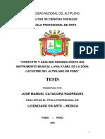 Catacora Rodríguez, J. Contexto y análisis organológico del instrumento musical Kawa K'umu.pdf