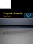 Comptia A+ (220-701) and (220-702) Exam