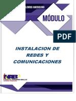 MODULO INSTALACION, REDES Y COMUNICACIONES
