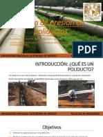 Caída de presión en poliductos