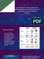 Articulo electro (Evaluation of a new lymphocyte proliferation assay based).pdf