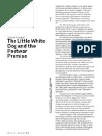 Samer Frangie The Little White Dog and the Postwar Promise